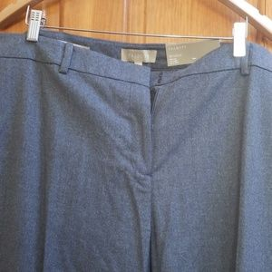 Talbots dress wool pants